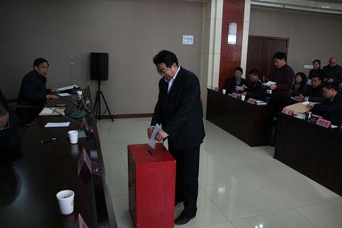 公司党委书记许海涛作了总结讲话,要求各单位要深刻学习领会山东局七